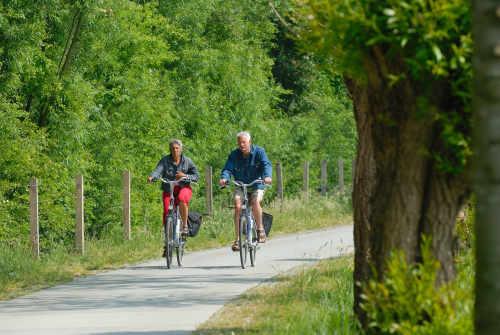 Fahrrad- und Go-Kart-Verleih