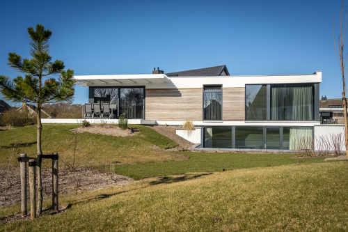Luxe villa met zwembad op Villapark De Koog Texel