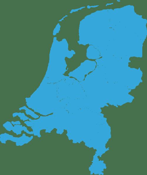 map-nederland