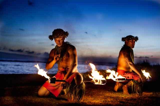 Hawaiian Luau & Buffet