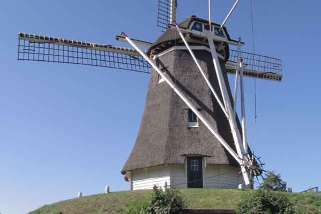 Flour Mill De Duif