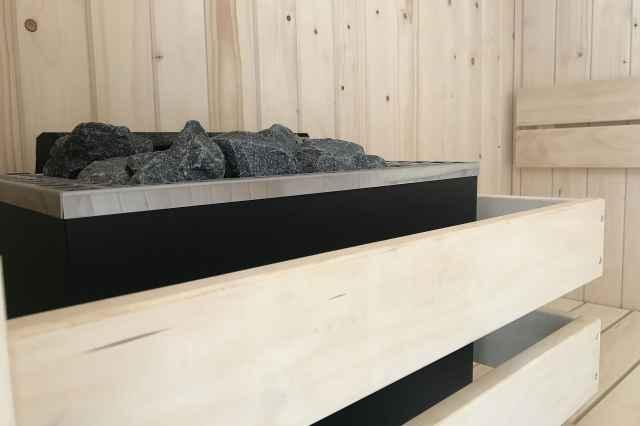 Villapark De Koog, detail sauna