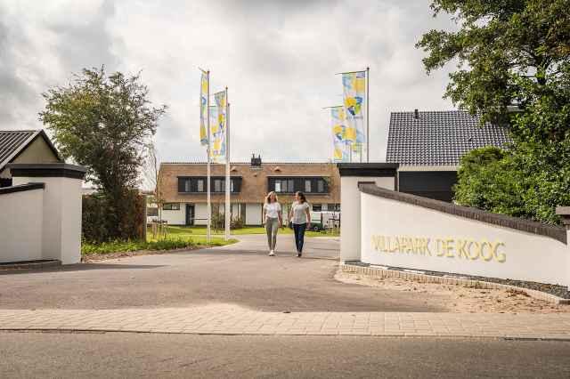 Villapark De Koog, entrance
