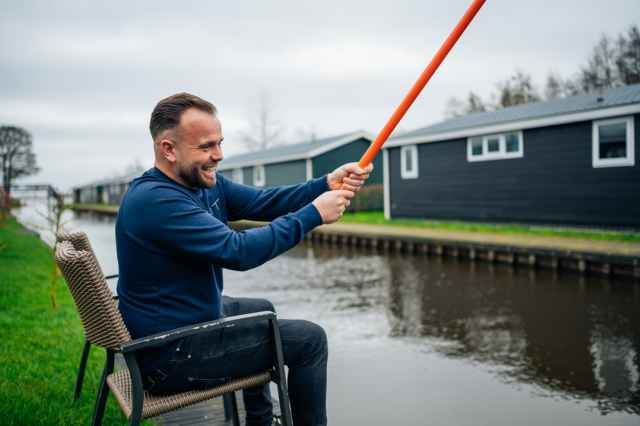 Book a Fishing Holiday in the Netherlands at Holiday Park Giethoorn