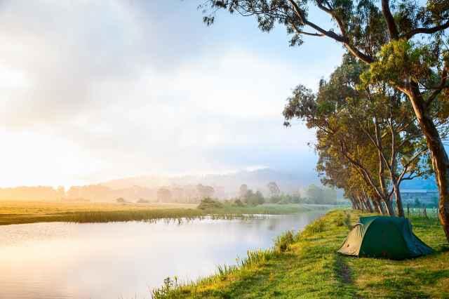 Campingplatzen