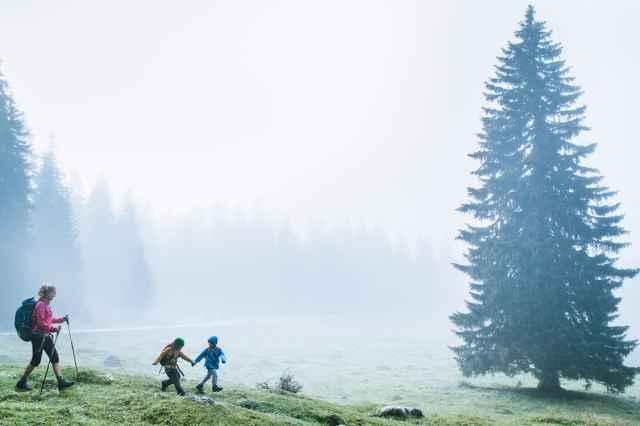 Winter Wanderungen