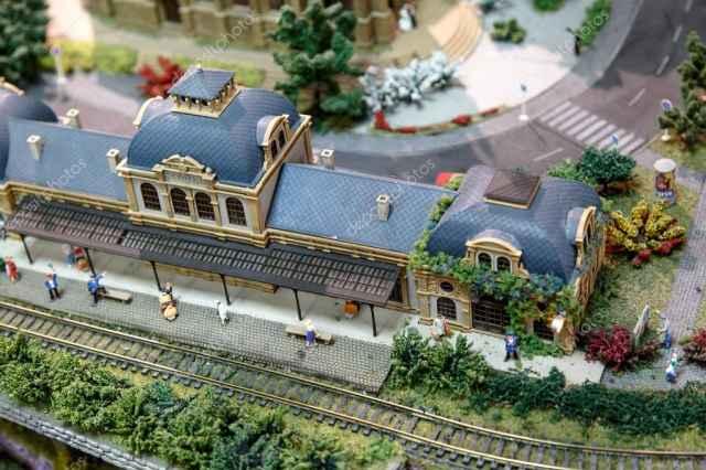 Openbaar vervoer en speelgoed museum