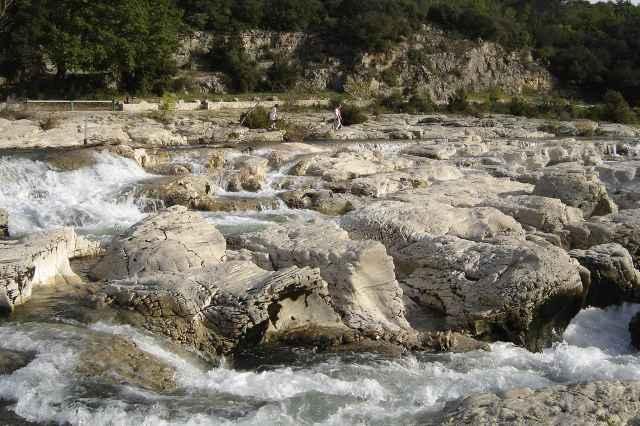 Watervallen van Sautadet - Vallee Verte