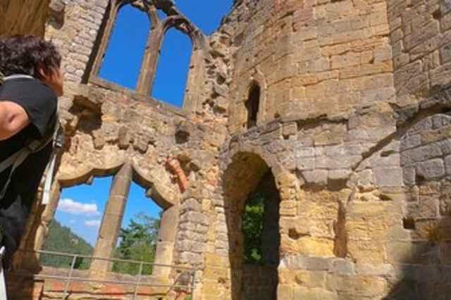 De Burcht - en kloosterruïne van Oybin