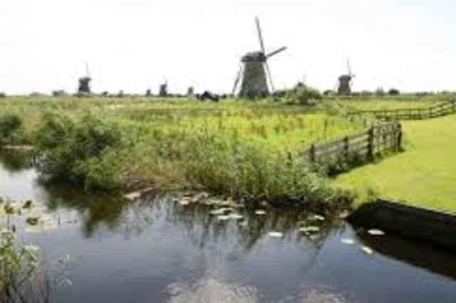 UNESCO Werelderfgoed Kinderdijk