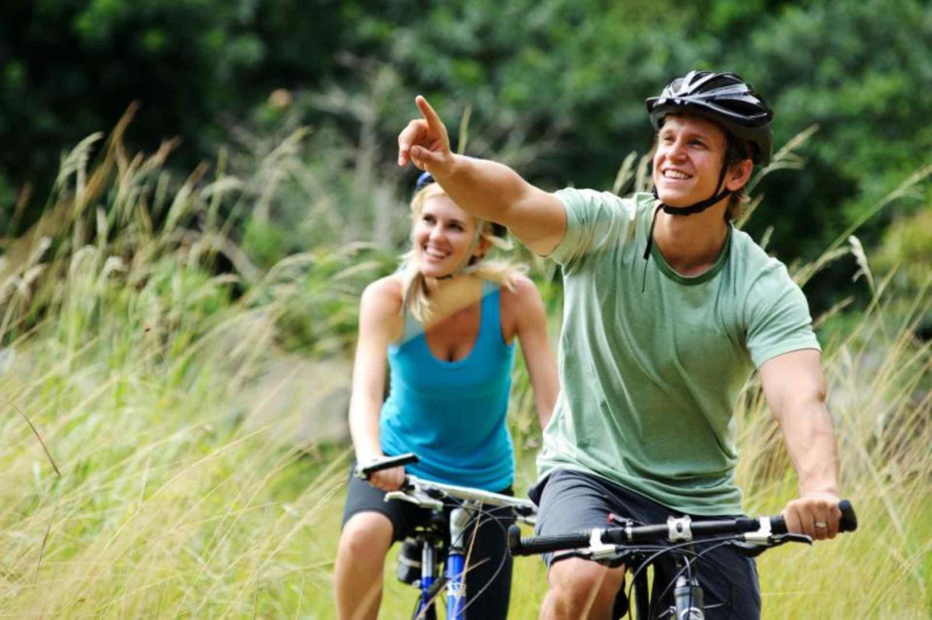 Wandelen en fietsen