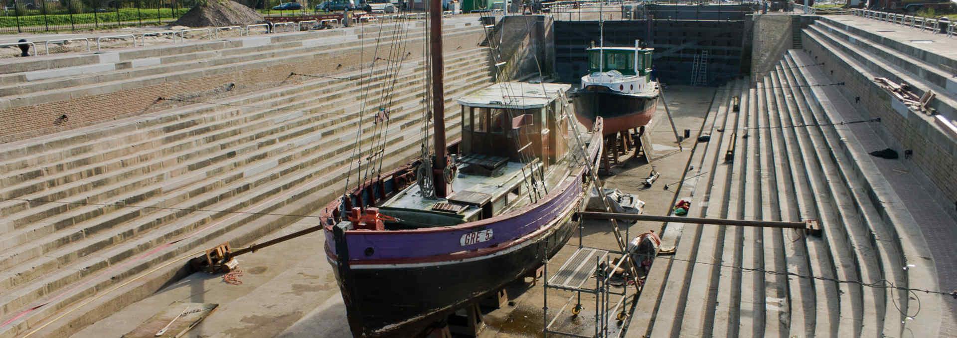 Dry dock Jan Blanken