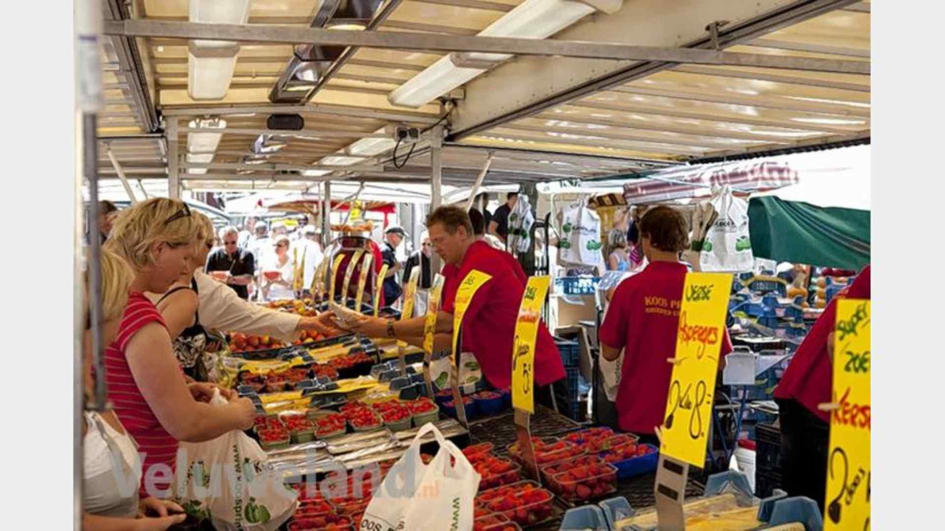 Weekmarkt Nunspeet