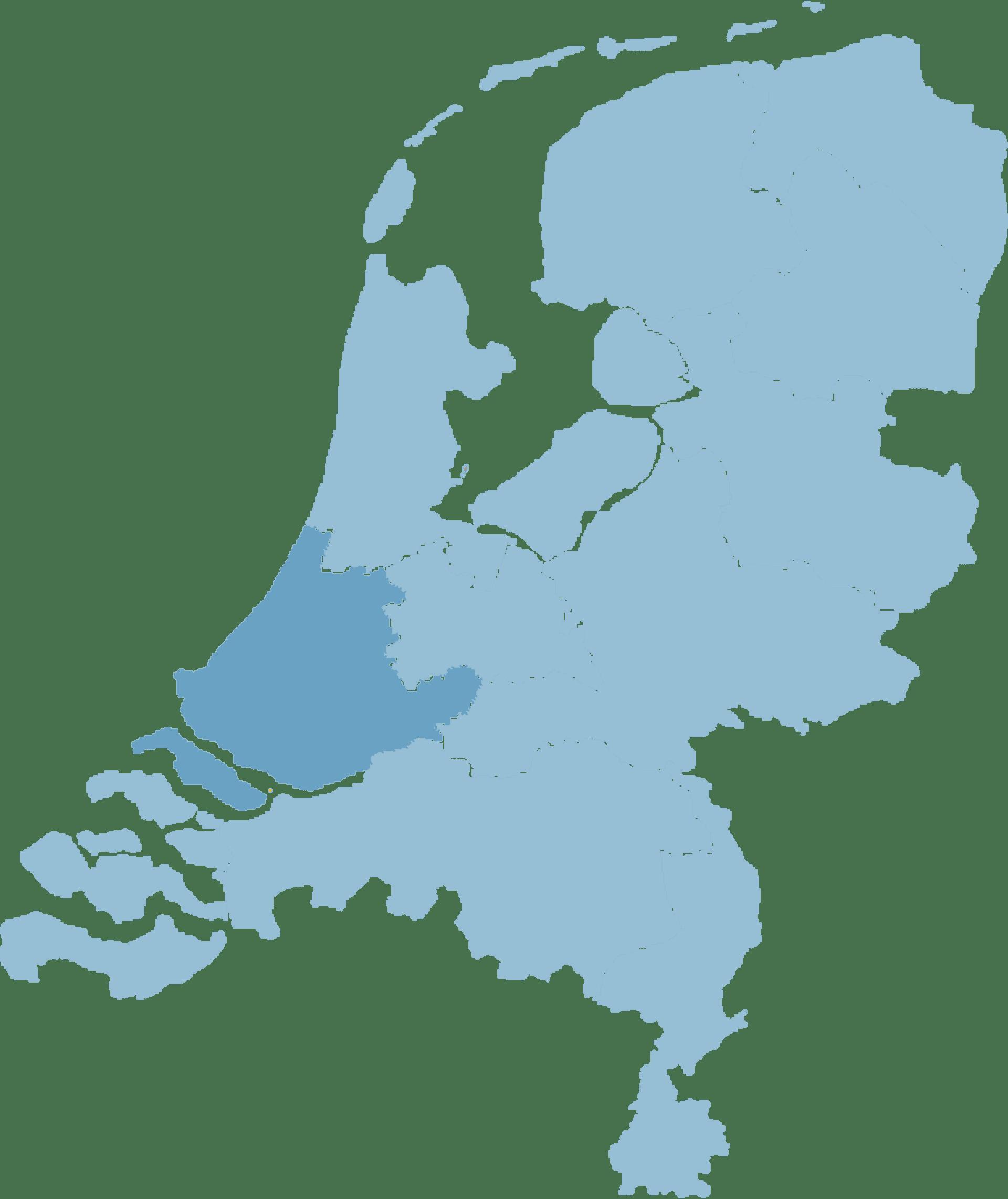 map-zuid-holland