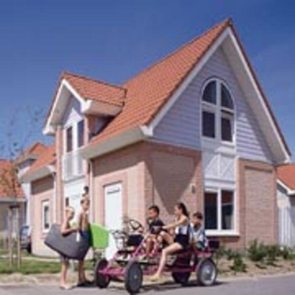10 persoons groepsaccommodatie aan het Noordzeestrand in Zeeland op Residence De Banjaard.
