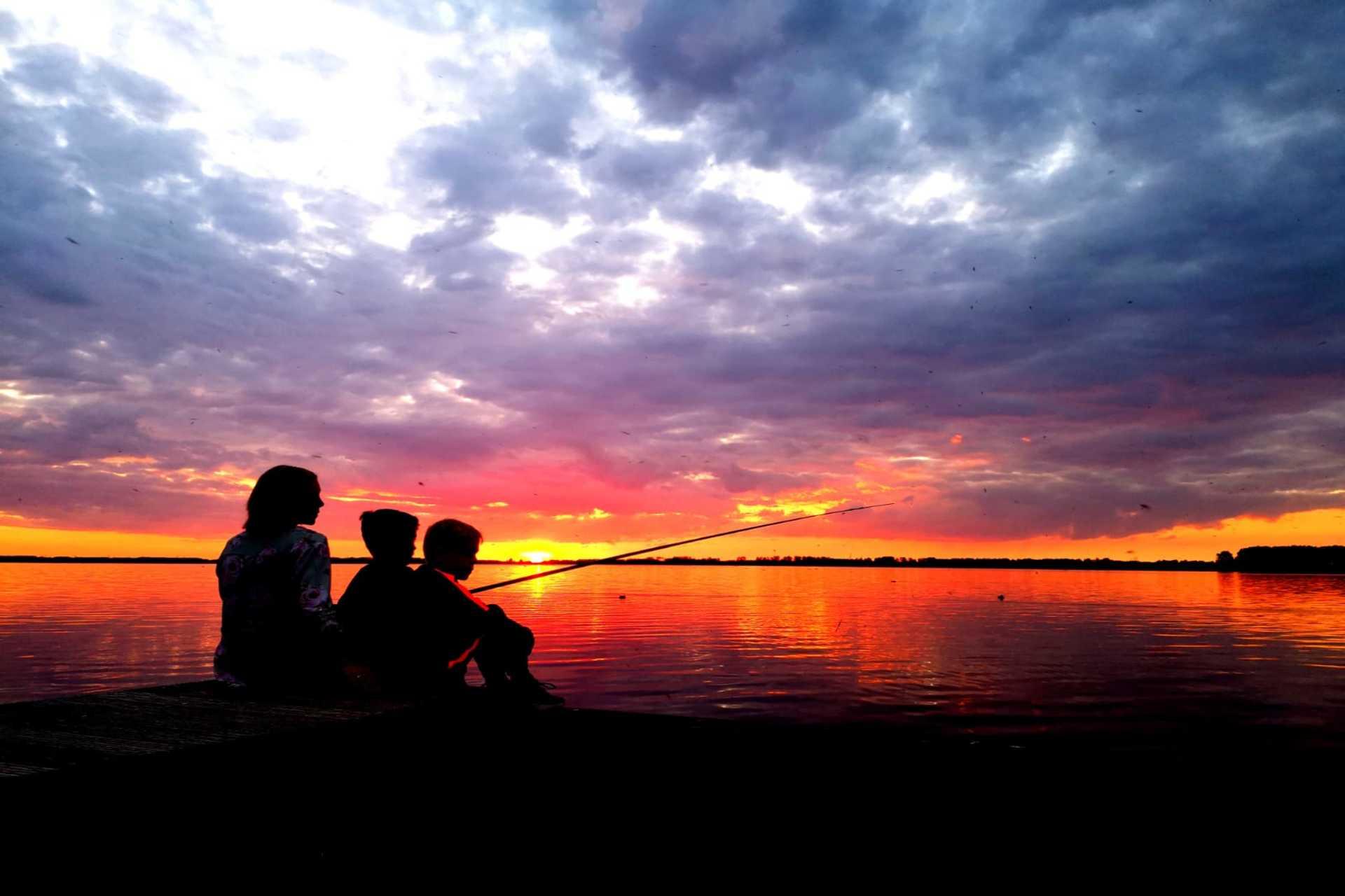 Resort Veluwemeer - Sonnenuntergang