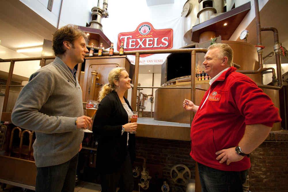 Oudeschild,  rondleiding Texelse bierbrouwerij