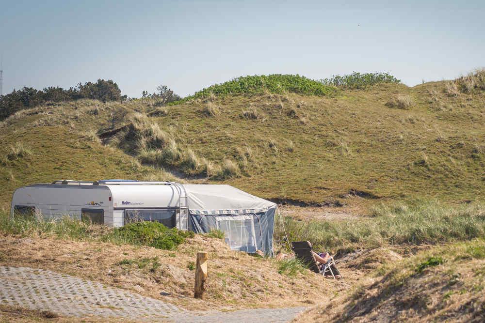 Camping Kogerstrand, kampeerplaats