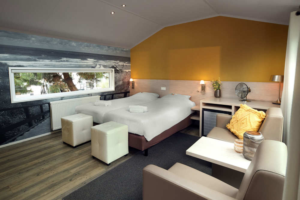 Vakantiepark De Krim, hotelchalet