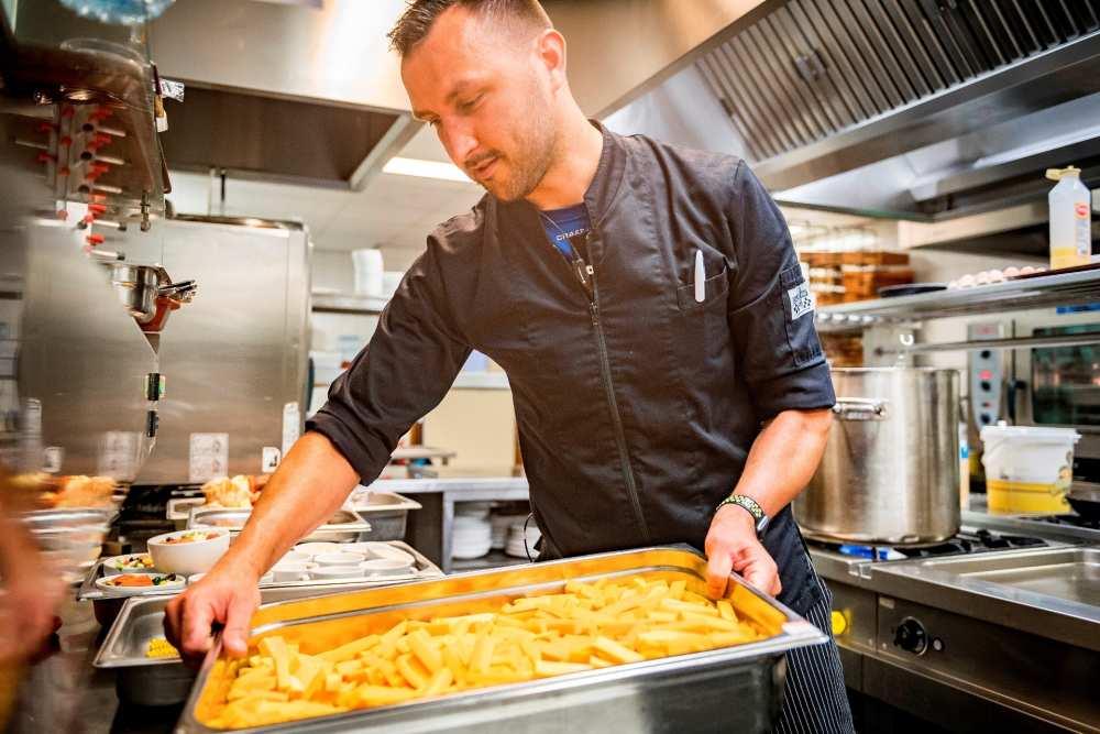 De Krim Texel, zelfstandig werkend kok