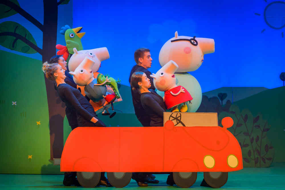 Evenementenhal Texel, Peppa Pig live
