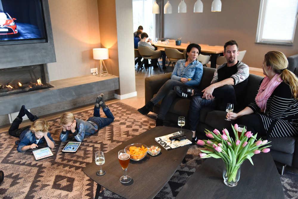 Bungalowpark 't Hoogelandt, Luxusvilla