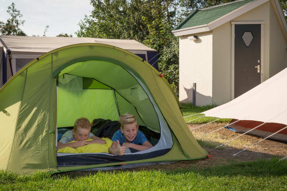 Camping De Krim, Komfort plus Platz