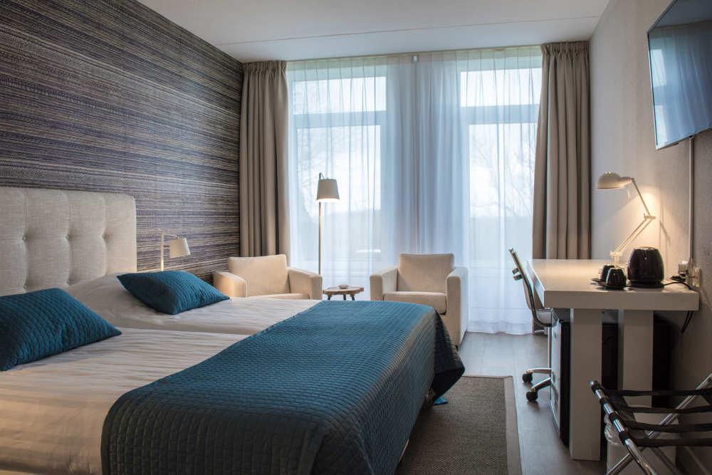 Hotel Molenbos, hotelkamer met douche/toilet
