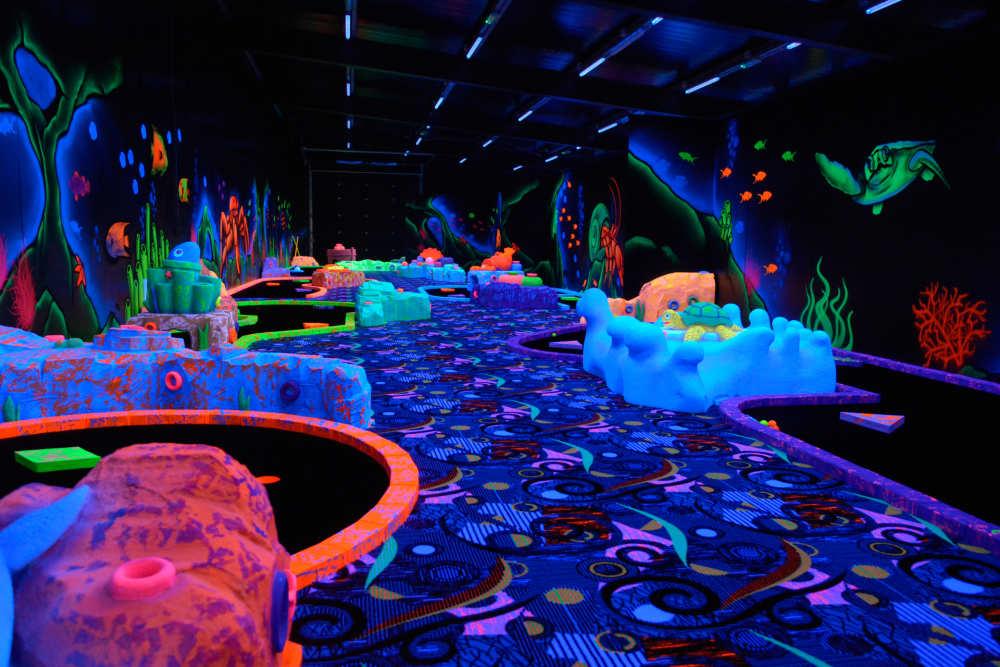 Vakantiepark De Krim, indoor midgetgolf