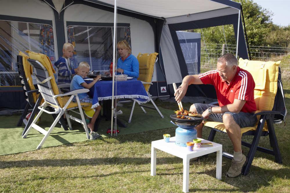 Camping De Shelter, barbecueën