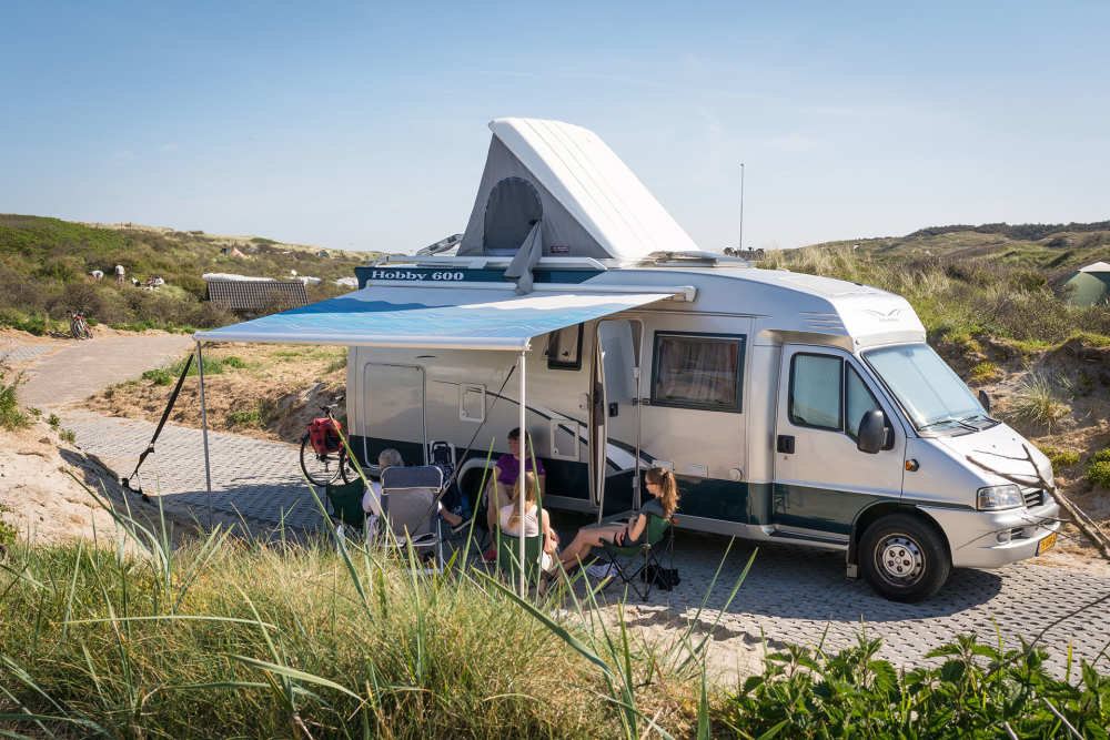 Camping Kogerstrand, camper pitch