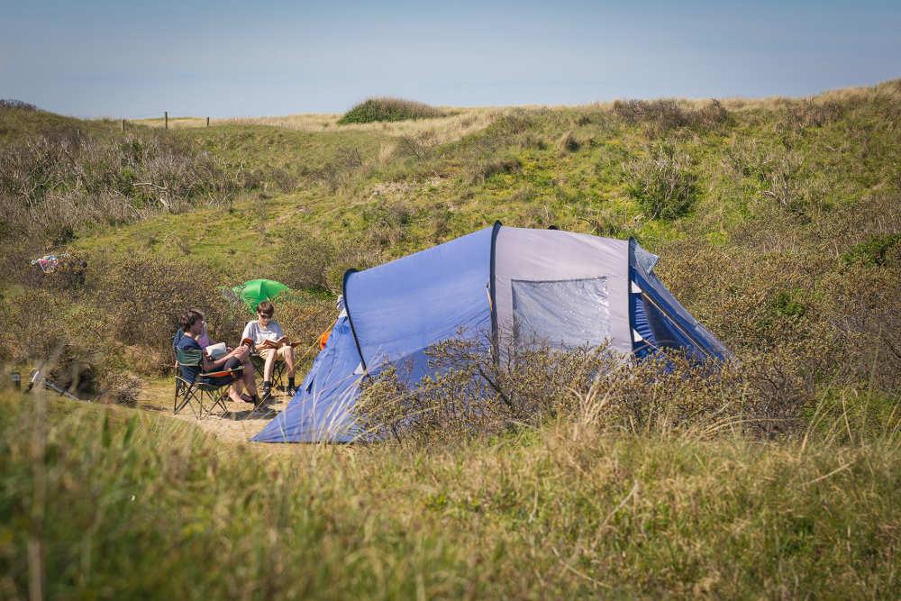 Camping Kogerstrand, Dünenplatz mit Strom