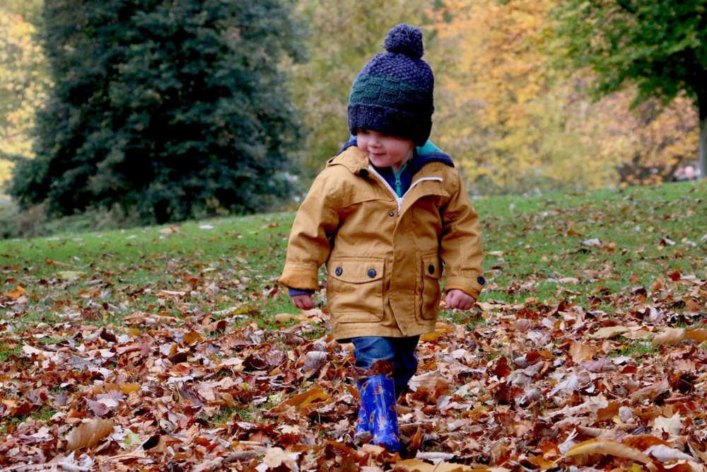 Kind in het bos