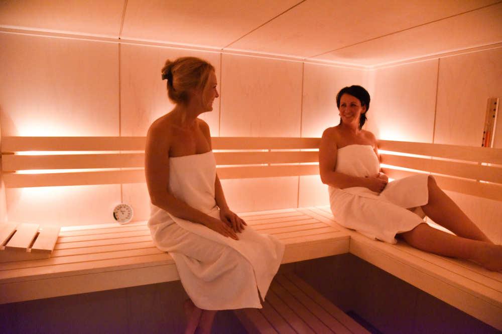 Bungalowpark 't Hoogelandt, Villa mit Sauna