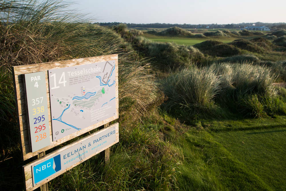 Golfbaan De Texelse, hole 14