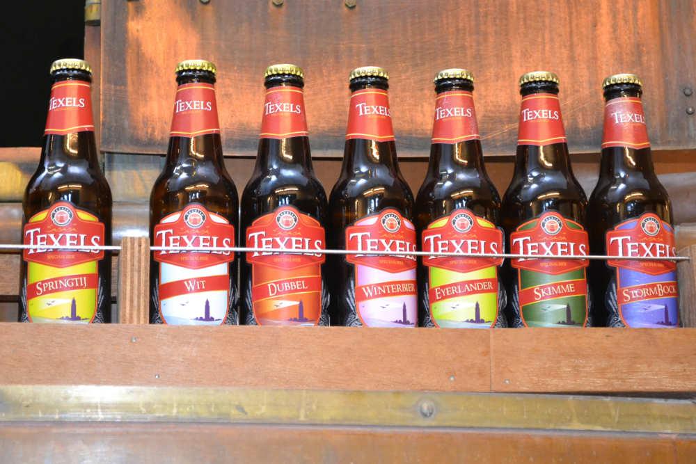 Texelse Bierbrouwerij, Bierflesjes