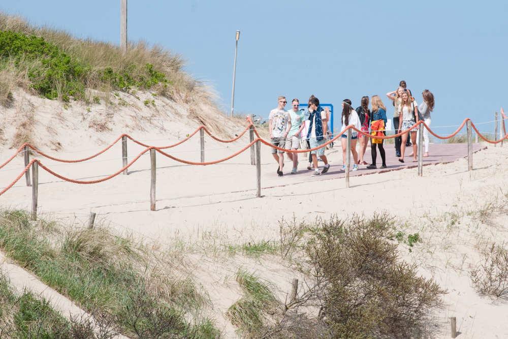 De Koog, strandopgang