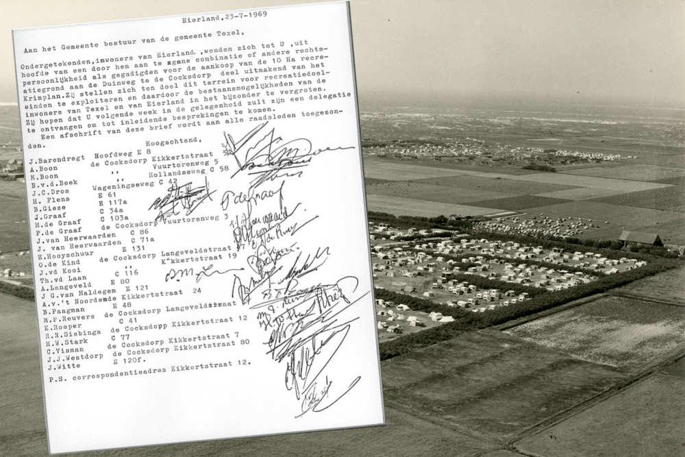 De Krim Texel, oprichtingsdocument