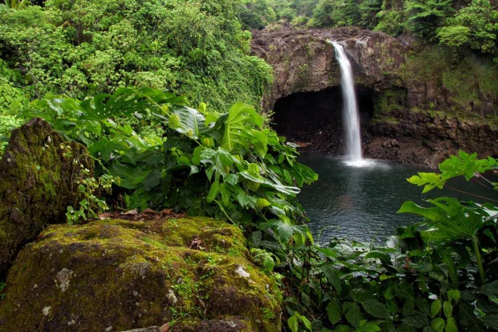 Big Island Rainbow Falls