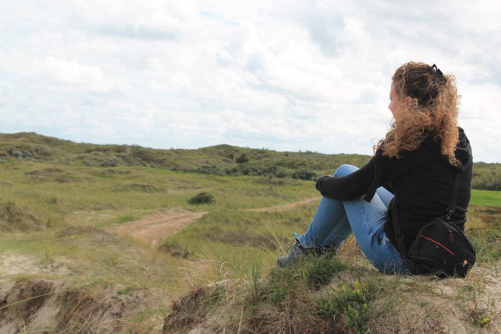 Duinen van Texel, wandelen