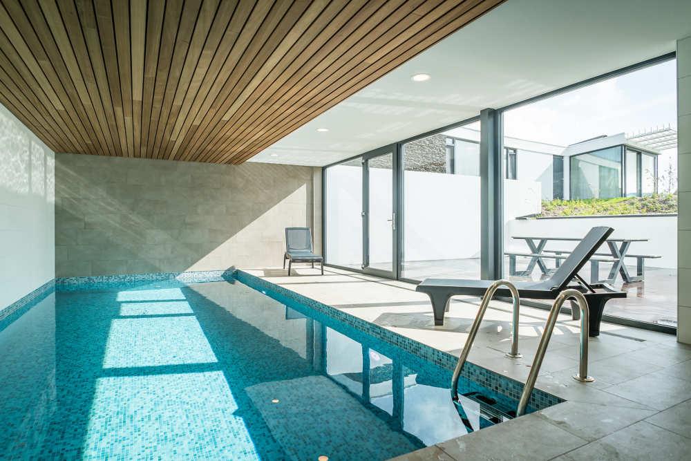 Wellness op Texel, Villapark De Koog, villa met zwembad
