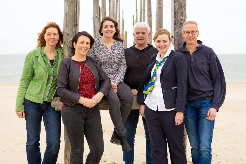 De Krim Texel, medewerkers