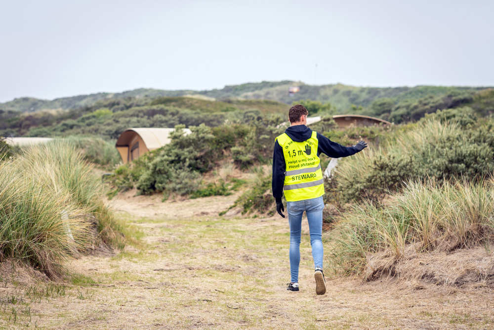 De Krim Texel, steward