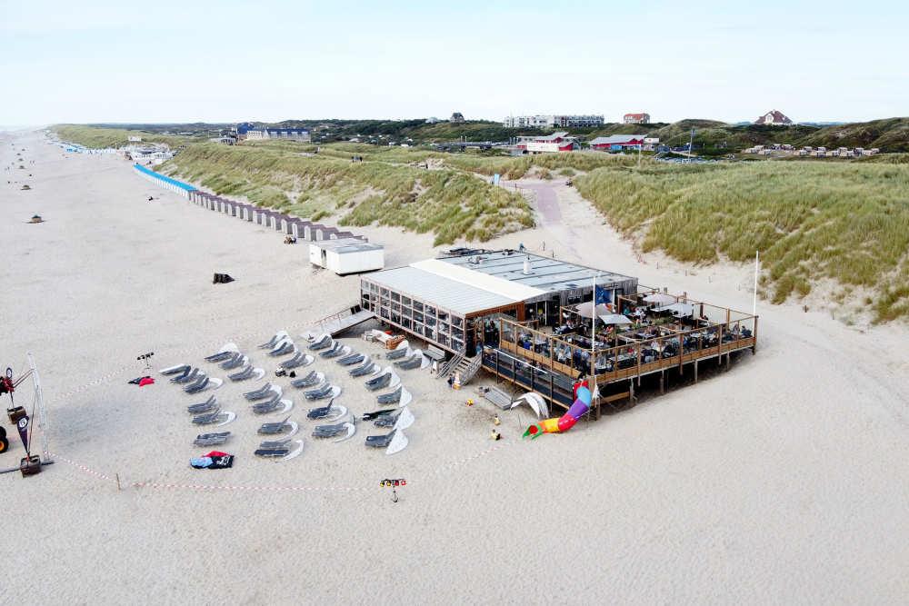 Beachclub Texel, Cinema, Strand