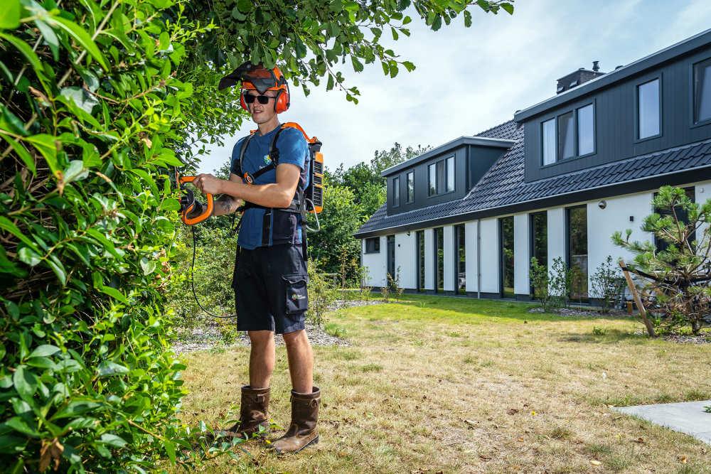 Villapark De Koog, medewerker Groenvoorziening