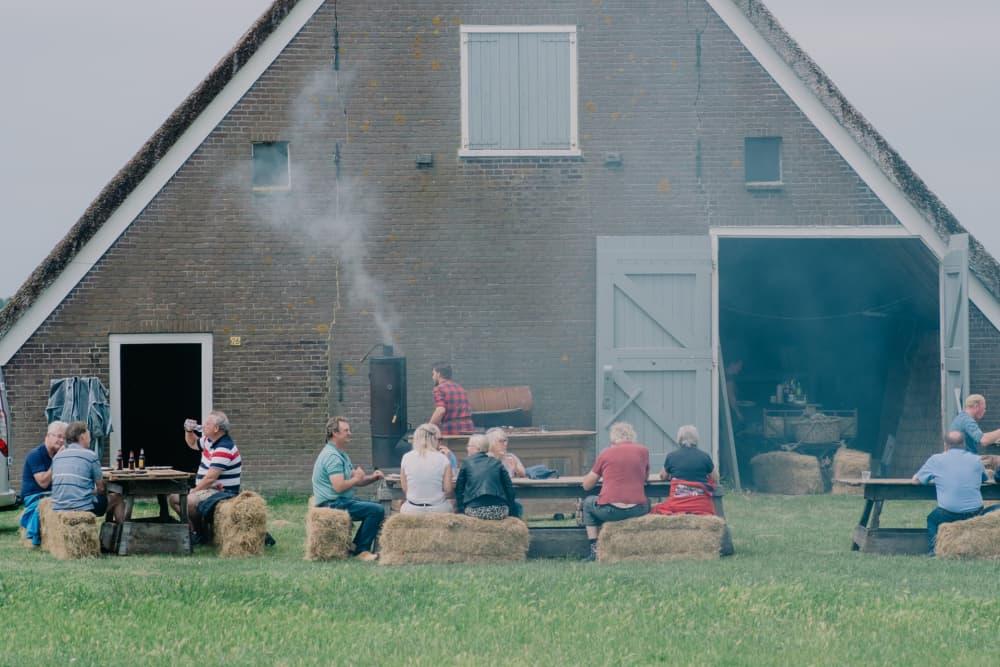 Barbecue schapenboet