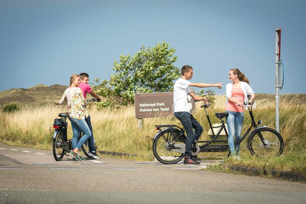 Vervoer op Texel, tandemfietspuzzeltocht