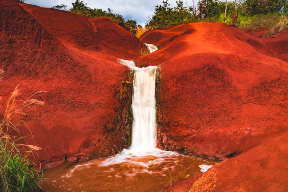 Kauai Red Dirt Falls