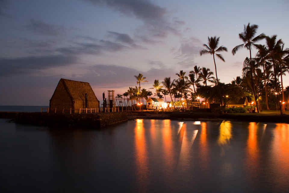 Big Island Luau After Sunset