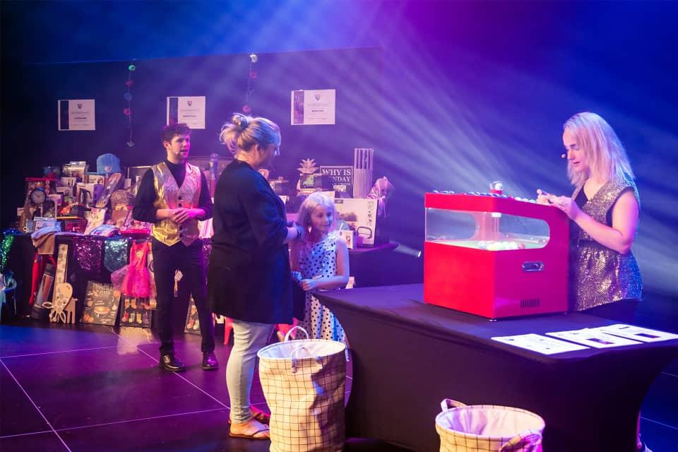 Bingo in Veranstaltungshalle Texel